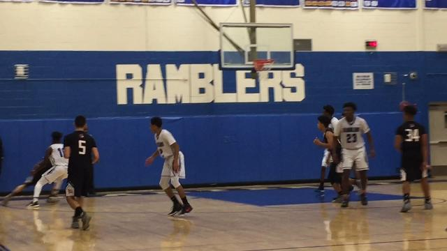 The Carteret boys basketball team defeated Bishop Ahr 70-62 in a GMC Blue Division matchup on Friday, Jan. 26, 2018.