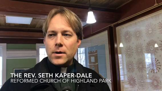 The homes of three Indonesians without legal status who are in sanctuary at the Reformed Church of Highland Park were ransacked.