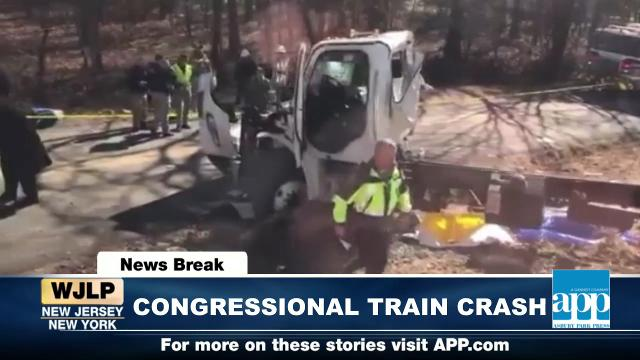 GOP Train crash; NJ representatives on board; Patriots vs Eagles
