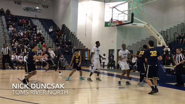 The No. 1 seed Panthers defeated the No. 8 seed Mariners, 76-52, in an SCT quarterfinal on Feb. 18 in Toms River.