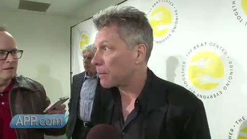 Bon Jovi helps judge the Toms River Soul Kitchen Chili Cook-Off for state first responders