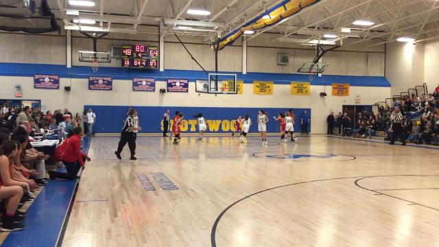 fifth-seeded Eagles upset top-seeded East Brunswick