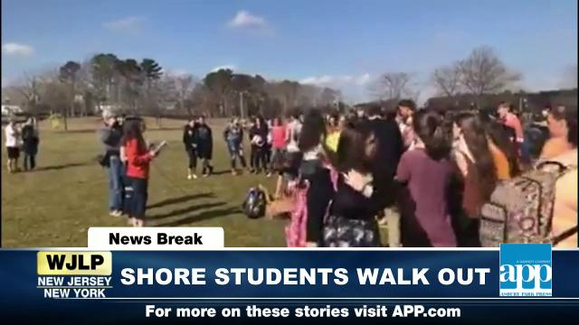 POTUS talks bump stock ban; Shore students walk out of class in response to Florida school shooting; 2018 Winter Olympics
