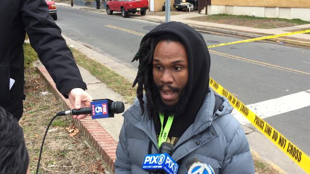 RAW: Asbury Park resident Kyle Meade discusses violence