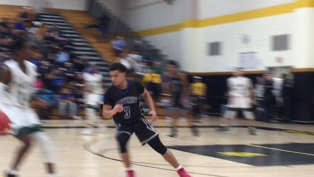 The top-seeded St. Joseph (Met.) basketball team defeated fourth-seeded Carteret 62-60 on a buzzer-beating 3-pointer to advance to the GMC Tournament final on Tuesday.