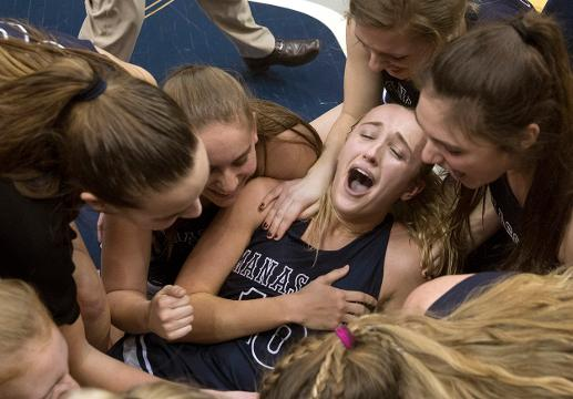 Senior Dara Mabrey reached one of her senior year goals as she and Manasquan Girls Basketball  soundly defeated St John Vianney in Shore Conference Title game.