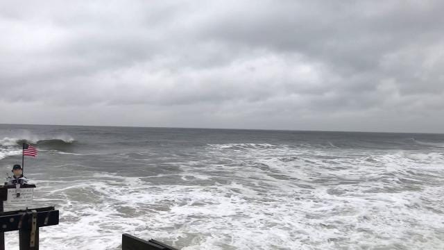 Nor'easter Update: Ralph in Ocean Grove