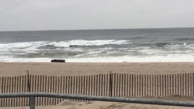 Nor'easter update: Conditions in Asbury Park