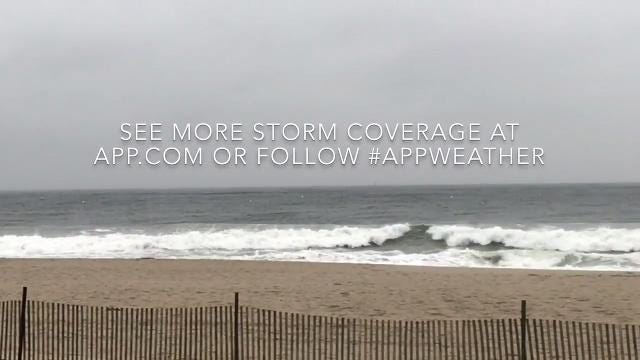 Nor'easter update: Asbury Park at high tide