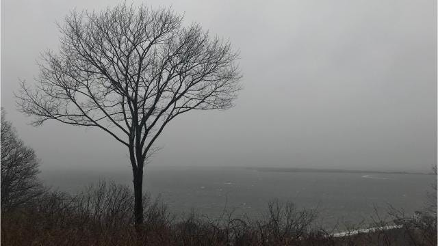 NJ weather: Nor'easter brings snow to the Shore