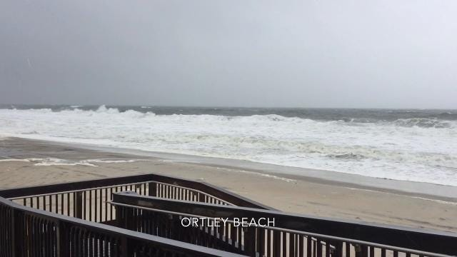 Nor'easter update: Ocean County