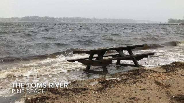 Nor'easter in Toms River