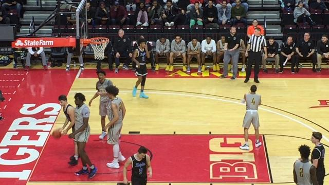 The second-seeded Gill St. Bernard's boys basketball team fell to No. 1 Roselle Catholic 57-40 in the North Non-Public B final on Thursday at the Rutgers Athletic Center.