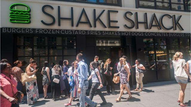 Shake Shack has developed a loyal following