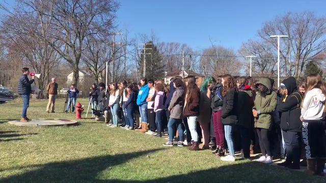 National School Walkout: Communications High School student addresses peers