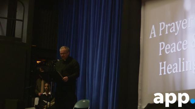 National School Walkout: Donovan Catholic walkout