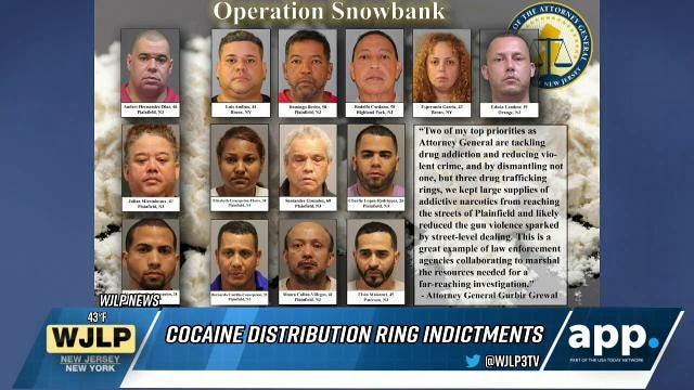 Austin bombing investigation; 15 indicted on cocaine distribution charges across New Jersey