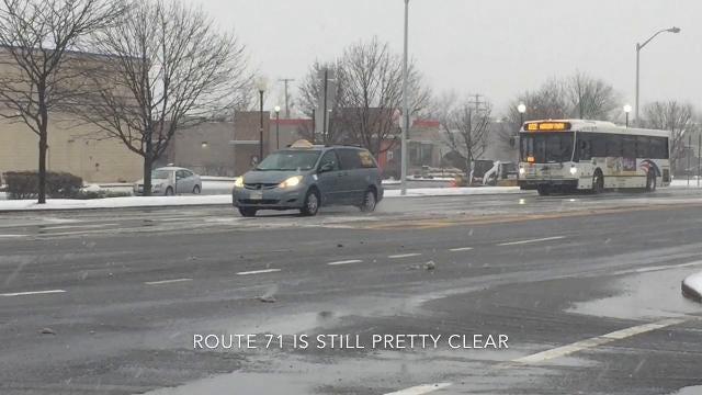 NJ Weather: Ocean Grove snow scenes