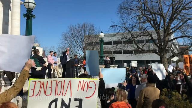 A March For Our Lives rally was held in Somerville Saturday.