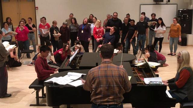 """As its inaugural production, the new Hub City Opera and Dance Co. will present """"Der Mond,"""" composer Carl Orff's adaptation of the Grimm fairy tale, """"The Moon,"""" at 7:30 p.m. at Rutgers University's Nicholas Music Center in New Brunswick."""