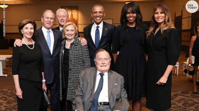 4 presidents, 4 first ladies show insight to exclusive club