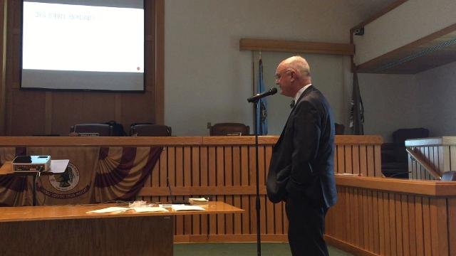 Toms River Administrator Don Guardian talks about the budget