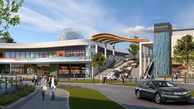 Monmouth Mall: planning board views new look