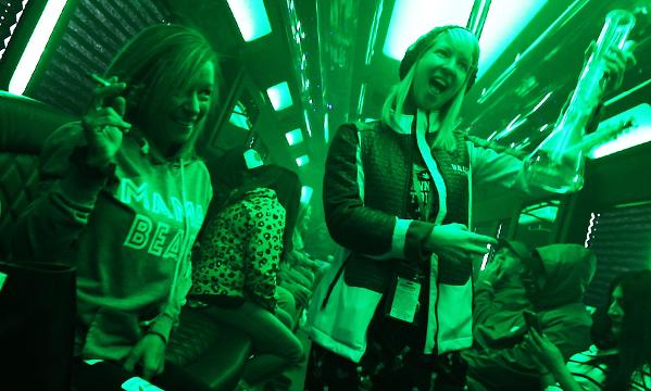 Inside Colorado Cannabis Tours, a legal weed party on wheels