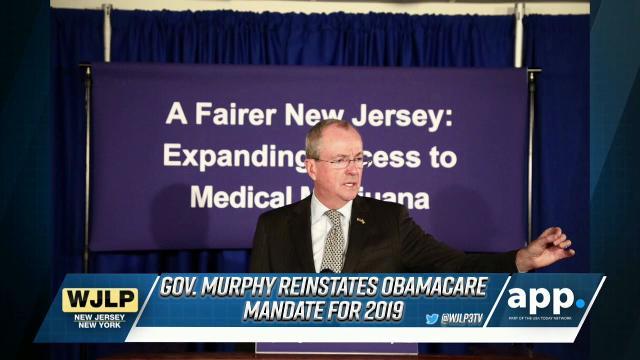 NewsBreak: Gov  Murphy restores Obamacare individual mandate in NJ