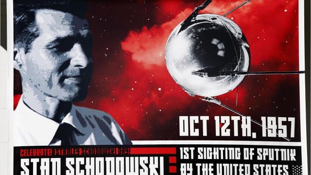 Stan Schodowski talks about the day he saw Sputnik.