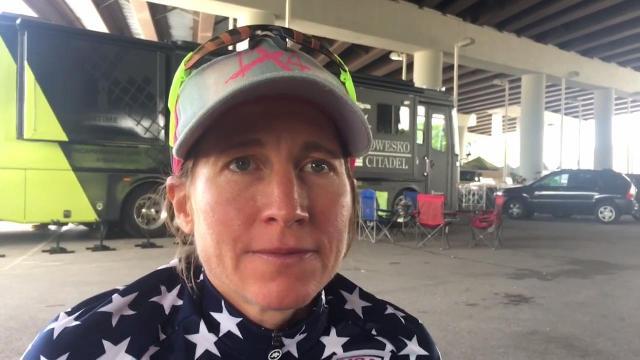 USA Cycling Pro Road Champion Amber Neben: 'It's beyond words'