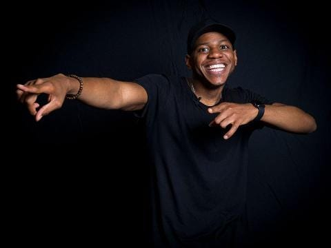 Chris Blue: Upcoming concert is about saying 'thank you'