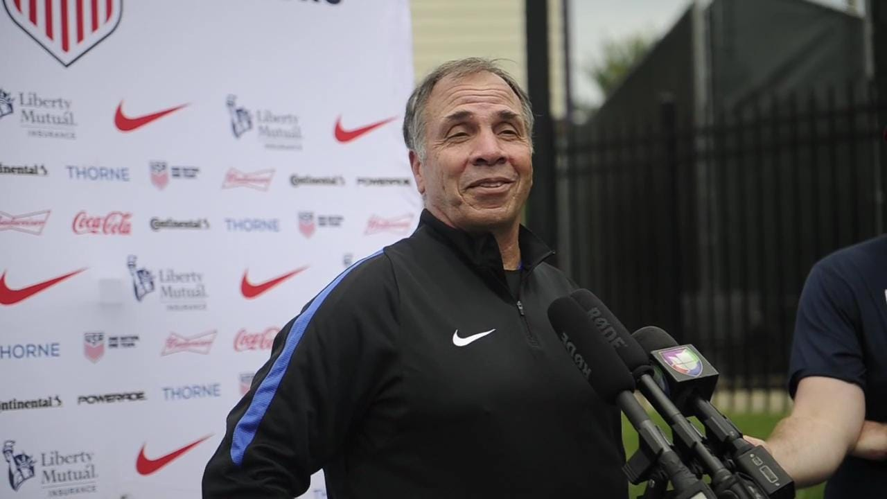 U.S. men's national team coach Bruce Arena and midfielder Gyasi Zardes share thoughts on training in Nashville for 2017 Gold Cup.