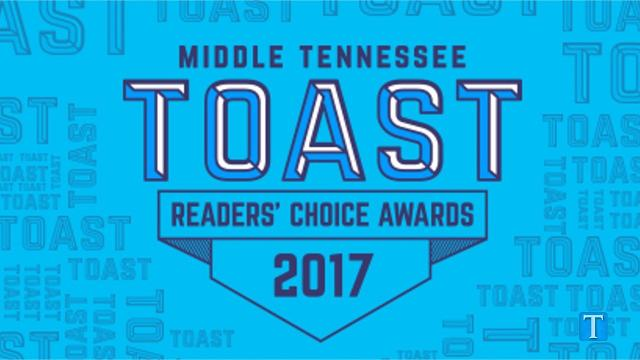 Nominations are now open for Middle Tennessee's annual Toast Readers' Choice Awards and we want to know your favorite local places to dine, shop, travel and do business in Nashville.