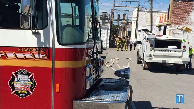 A gas leak in Downtown Dickson caused an area of North Main Street and West College Street to be closed for about an hour. The leak has since been sealed.