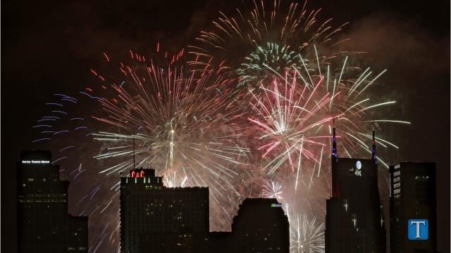 Can you shoot fireworks in Middle Tennessee?