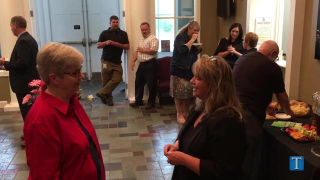 City of Fairview recently held an open house to introduce new hires to citizens.