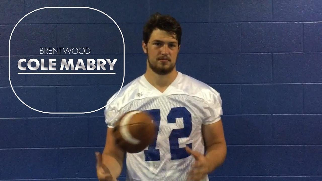 Dandy Dozen 2017: No. 12 Cole Mabry