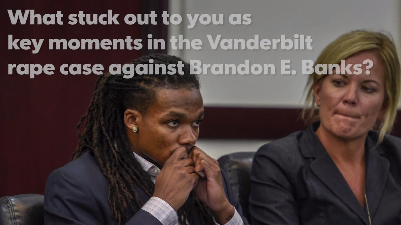 Juror discusses Vanderbilt rape case against Brandon E. Banks.