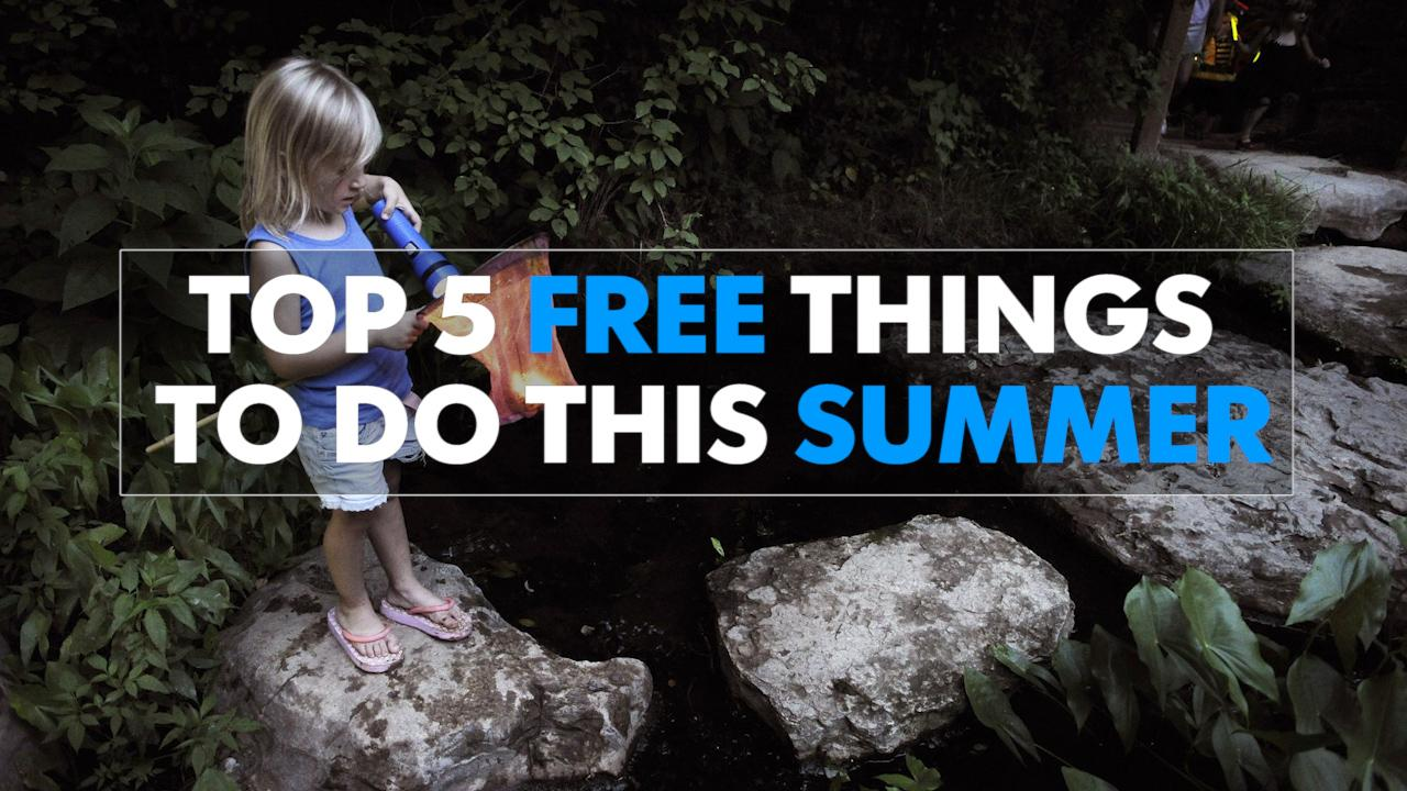 Top 5 free things to do this summer from Ms. Cheap