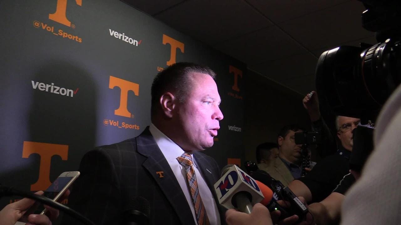 "2017 SEC Media Days: Butch Jones said Vols ""a blue collar football team"""