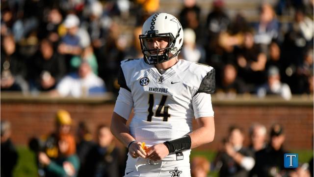 Kyle Shurmur steps into leading role at Vanderbilt