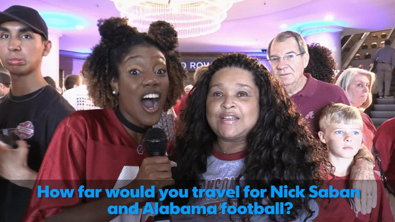 Will Alabama fans travel if SEC Media Days move?