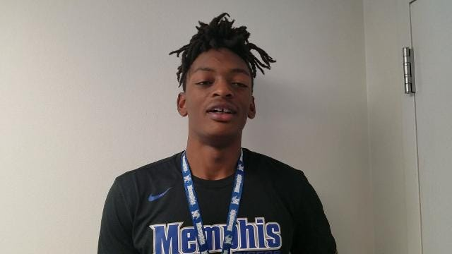 Memphis F Kyvon Davenport on his best moment as a basketball player