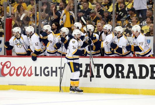 How much did Predators players make during Stanley Cup playoffs?