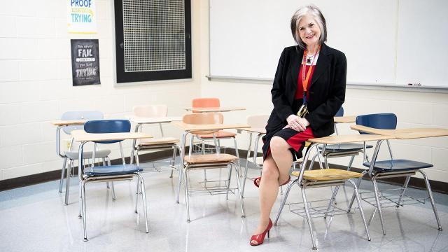 Educator Marlaine Ells speaks about retention of teachers