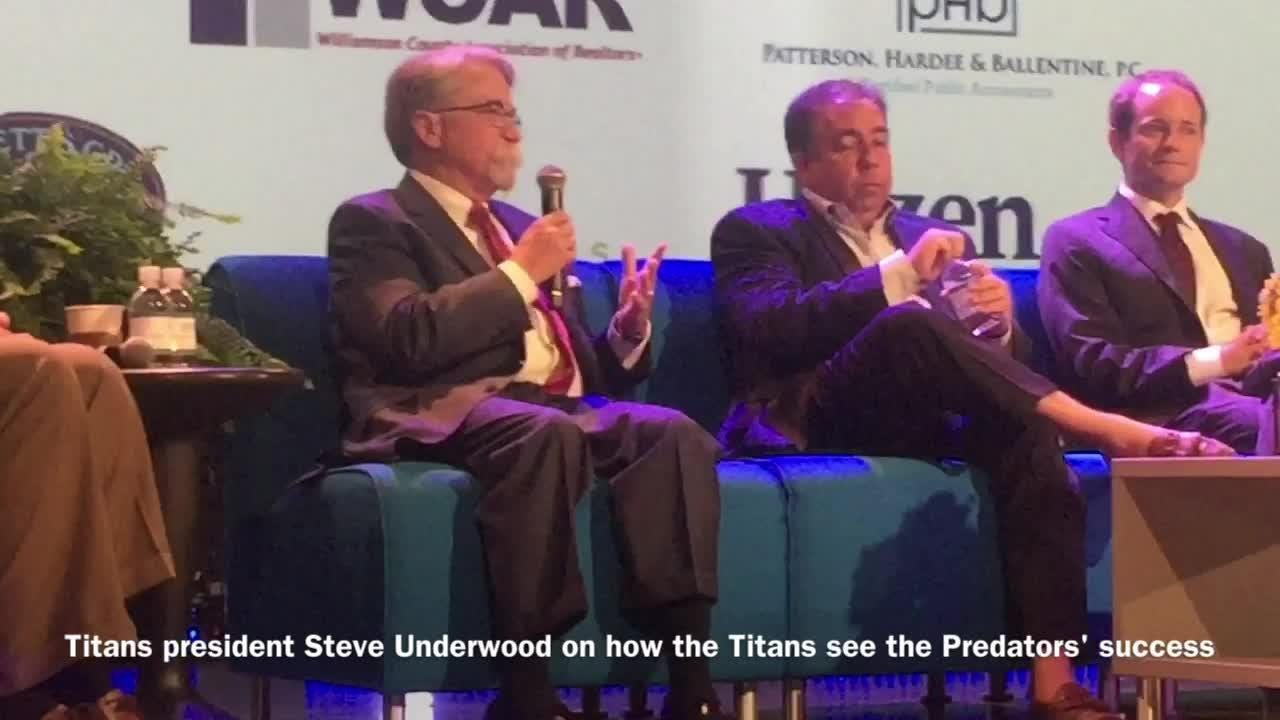 Predators/Titans executives on sharing the wealth