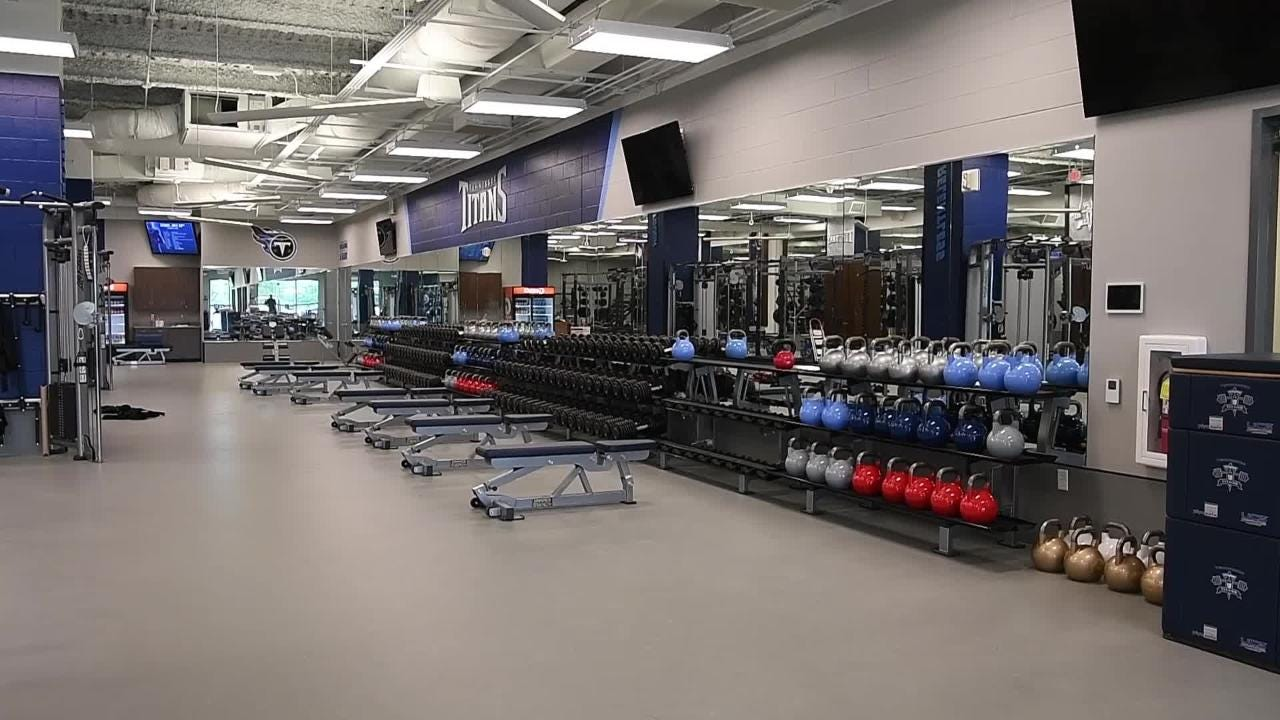 Titans renovate facility