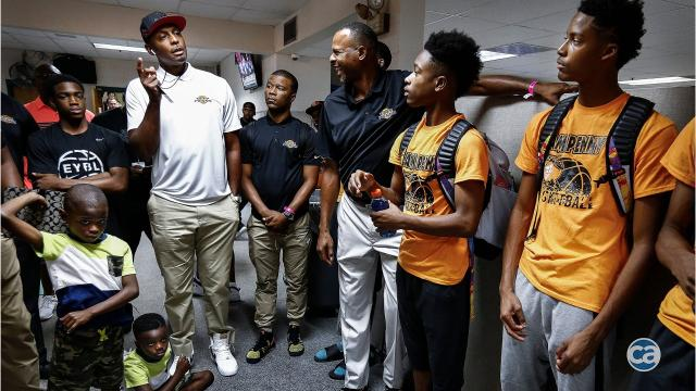 official photos b922b 0c16c Penny Hardway gives young Memphis basketball stars a chance to showcase  their talent