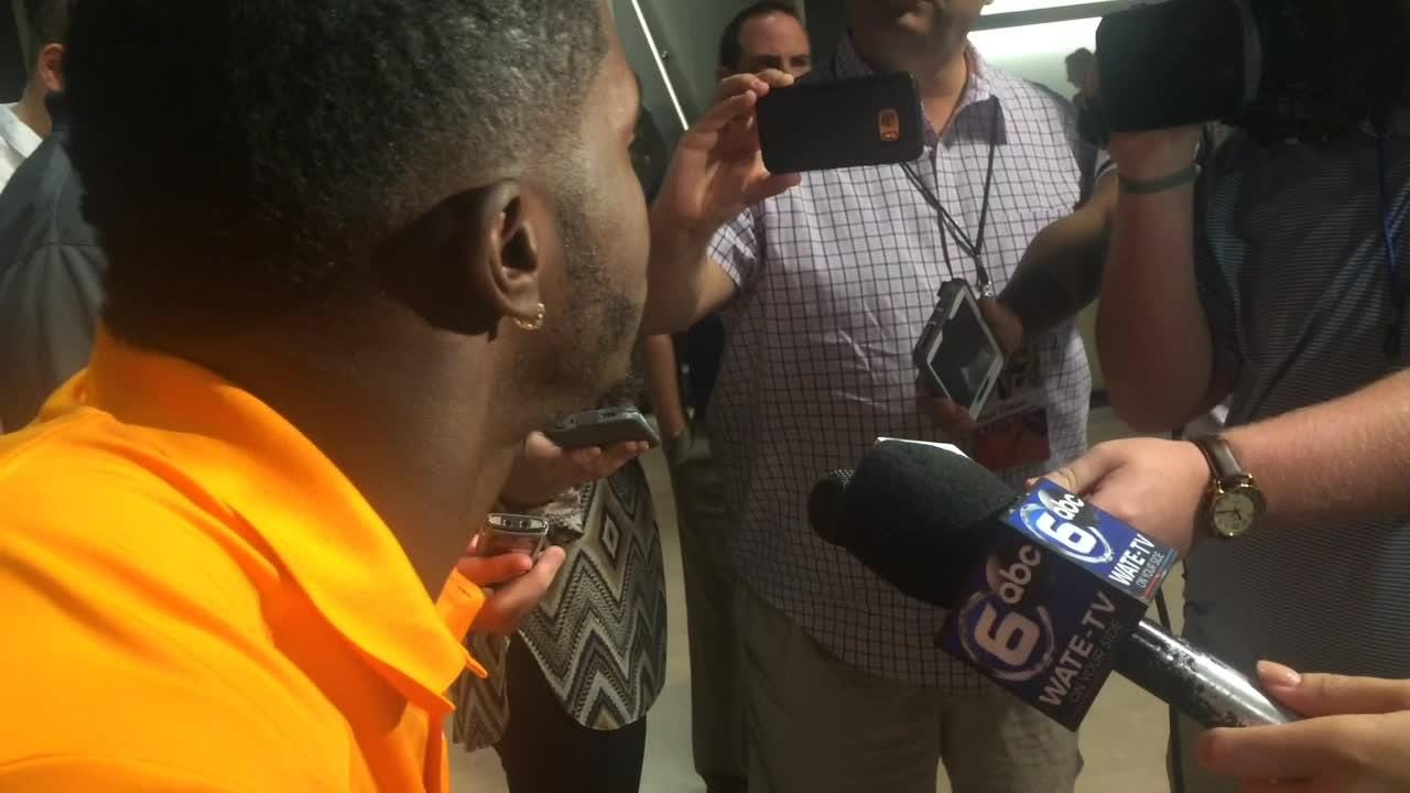 Darrell Taylor's take on Vols' practice